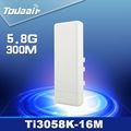 Ghz 5.8 300 mbps de alta potencia al aire libre punto de acceso inalámbrico/cpe/panke punto de acceso inalámbrico