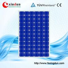 36v 260w monocrystalline solar panel pv module