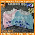 Calidad moda para mascotas perrito del animal doméstico ropa metallica ropa para perros