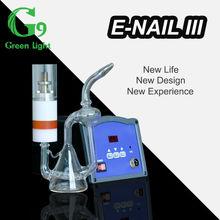 China wholesale glass smoking pipes/China Water Vapor DIY titanium Enail/E nail/E-nail