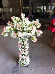 Home garden deco Artificial solar craft color flower combinations for ESHZ09 14119