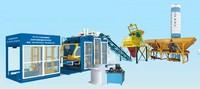concrete block making plant high output QTY10-15 Hydraulic Automatic Concrete Hollow Block Making Machine Line