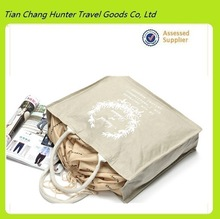 promotional durable grocery cotton drawstring bag shopping bag