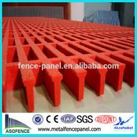Molded China FRP Gratings Fiberglass Reinforced Plastic Gratings