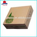 brown kraft boîte en carton imprimé