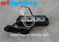 4x1W high powe Auto LED warning amber strobe light
