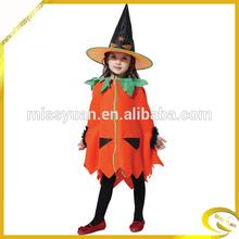 2014 hot sale girls halloween Pumpkin cloak