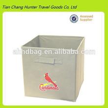 China Supplier MLB Licensed St Louis Cardinals Folding Storage Bin