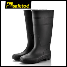 High heel wellington boots, plastic boots for men, women rain boots size 12 W-6036