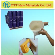 Transparent/semi-transparent liquid silicone rubber for silicone molds
