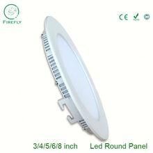 9W round led panel light, 5 inch 9W led round panel lighting, mono round solar panel