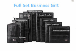 Gift wallet in full set with gift box