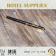 Hotel amenity hotel use ballpen metal ballpen for travel use promotional ballpen
