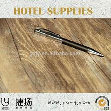hotel amenity hotel ballpen supplier hotel metal high quality ballpen factory