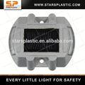 Srs-al002 de aluminio ledintermitente solar muelle de la luz