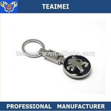 Peugeot Metal car Keyring/key holder/ Keychains