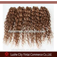 Queen love hair honey blonde Brazilian virgin human hair deep weave curly cheap unprocessed