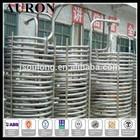 AURON/HEAWELL ABS BV GL DNV ISO OHSAS CE Stainless steel 304 boiler tube coiler/SS 304 boiler pipes/SS304 boiler tube