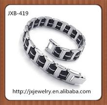 fashion men and women magnets link titanium bracelet jewelry serise