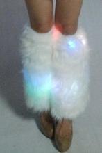 New style most popular masquerades fashion girls fashion girls christmas light leg warmer