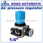 Air filter regulator and pressure gauges 1/4 inch MINI type
