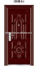 RED WALNUT Security steel Doors desIgn made in yongkang