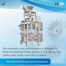 Cups Doser Powder Granule Packing Machine