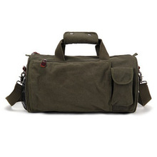 Army Green Rolling Duffel Bag