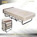 El hotel h-005/oficina/casa/hospital/ejército portátil de espesor del colchón de cuna de hierro plegable cama plegable