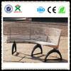 durable metal park bench leg modern metal leg garden bench white metal garden bench QX-145I