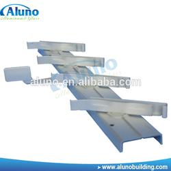 Customized color adjustable louver aluminum frame