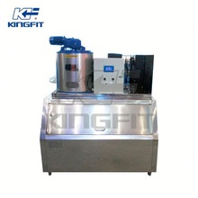 Fresh water flake ice makers