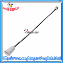High Quality Convert Base Ce E27 to E27 Extension With 60cm hose