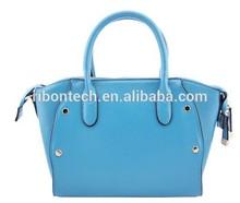 New Design Fashion Pu Shoulder Bag Genuine Leather Ladies Handbags