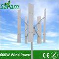 600w eixo vertical de vento gerador de energia de equipamentos