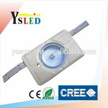 High power LED module injection, 3W CREE LED module lens, 200 Lumens LED backlight module for light box