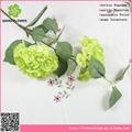 atacado seda artificial hortênsia flor arranjo