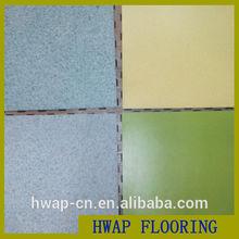 PVC Interlocking Floor Tiles / Super click style vinyl plank / Wooden surface pvc flooring Interlock vinyl tile