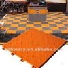 Durable antique modular basketball flooring