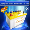 OEM Brand 12v45ah dry charged lead acid battery