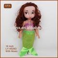 Cabeça grande Plastic Dolls Monica bonita 16 polegada boneca