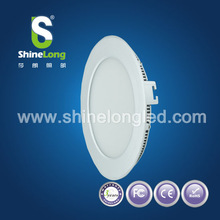 2014 Factory Price super thin round led panel light surfacemounted