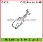 Automobile 4.8 series terminal DJ621-4.8 0.8B