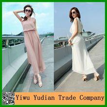 Wholesale Elegant Ladies Maxi Dress Silk Chiffon Dress Patterns