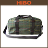 Cotton Tartan Sports Travel Bag Guangzhou Manufacturers
