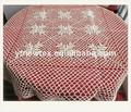 bordado de flores de diseño mesa de paño de tela ropa de mesa