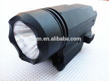 Pistol Flashlight 200 Lumens, Cree Q5 LED flashlight with Quick Release Mount Base for Pistol