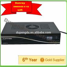 Sunray SR4 800seV2 wifi sim 2.2 hd v2 with wifi triple tuner DVBS2/DVBC2/DVBT