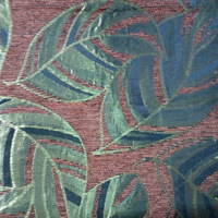 coffee chenille fabric for sofa upholstery with pu waterproof coating