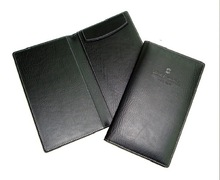 "Restaurant Synthetic Leather Menu Cover Single-Panel Holds (1) 8.5"" x 14"" Drinks List"